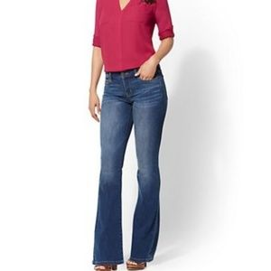 New York and Company Jeans Petite Curvy Bl…